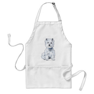 West Highland White Terrier Standard Apron