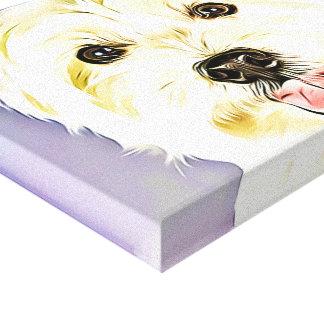 West Highland White Terrier,Westie,Dog,Puppy Canvas Print