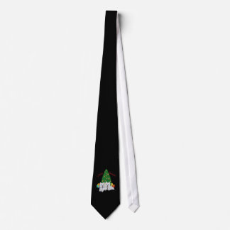 West Highland White Terriers Merry Christmas Tie