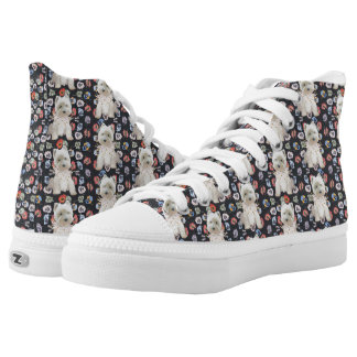 West Highland White Terriers Printed Shoes