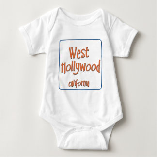 West Hollywood California BlueBox T-shirts