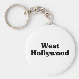 West Hollywood  Classic t shirts Key Ring