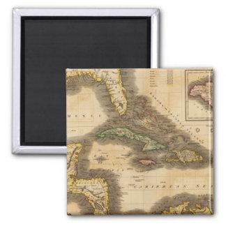 West India Islands Magnet