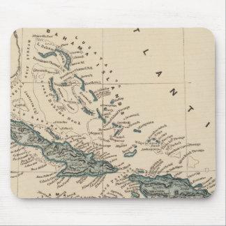 West India islands Mousepad