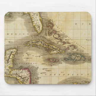 West India Isles Mouse Pad