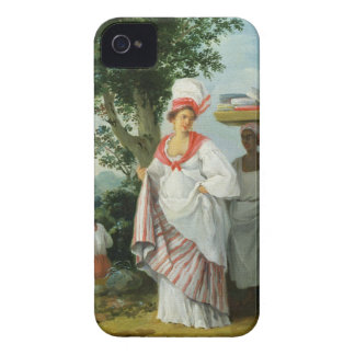 West Indian Creole Woman with her Black Servant, c Case-Mate iPhone 4 Cases