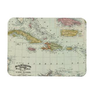 West Indies 11 Vinyl Magnet