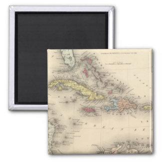 West Indies 12 Fridge Magnet