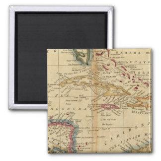 West Indies 16 Square Magnet
