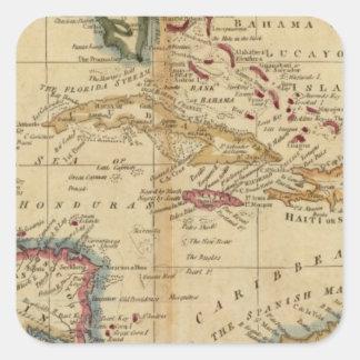 West Indies 16 Square Sticker