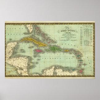 West Indies 18 Poster