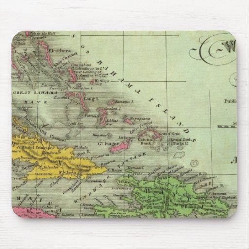West Indies 21 Mouse Pads