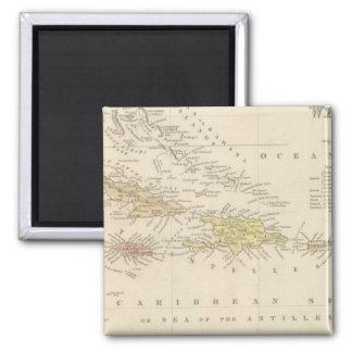 West Indies 4 Square Magnet