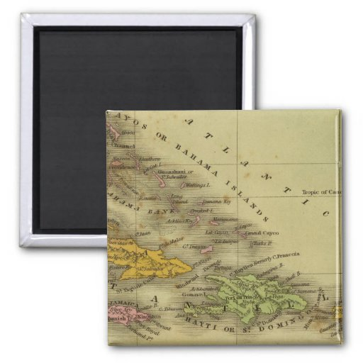 West Indies 6 Magnets