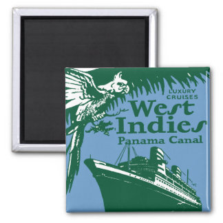 West Indies-Magnet Square Magnet