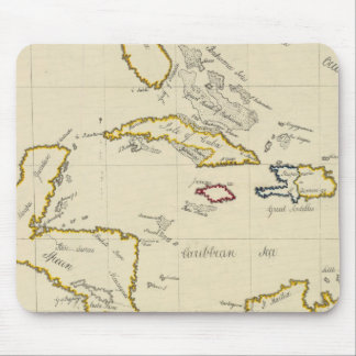 West Indies Mouse Pad