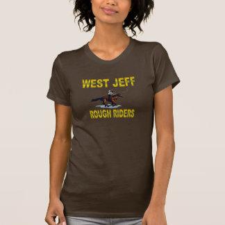 WEST JEFF RR BROWN TEE SHIRT
