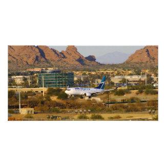 West Jet Custom Photo Card