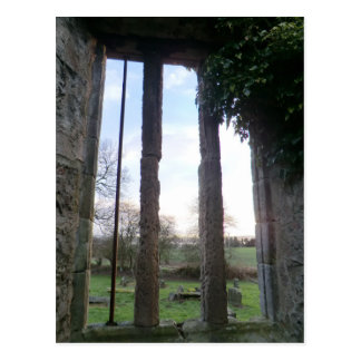West Kirk: Window Onto an Abandoned Churchyard Postcard