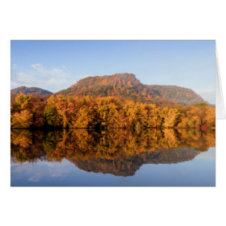 West Lake Fall Reflection Card