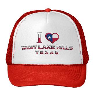 West Lake Hills, Texas Mesh Hat