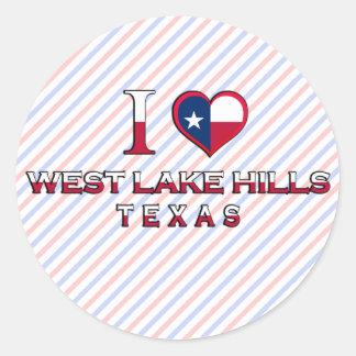 West Lake Hills, Texas Sticker