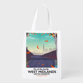 West Midlands, United Kingdom Reusable Grocery Bag