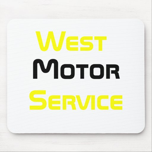 West, Motor, Service Mouse Pad