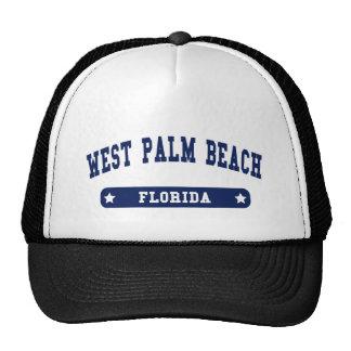 West Palm Beach Florida College Style tee shirts Cap