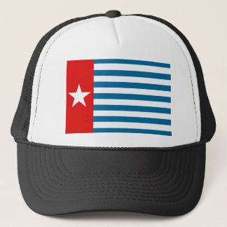 West Papua Flag / Morning Star Trucker Hat