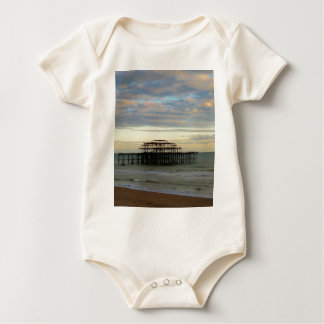 West Pier Brighton Baby Bodysuit