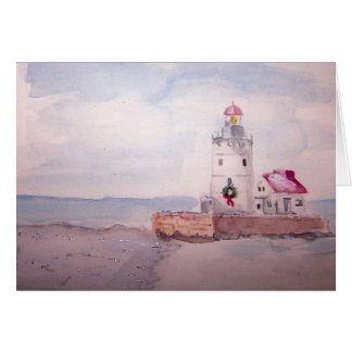 West Pierhead Lighthouse, Cleveland , Ohio Card
