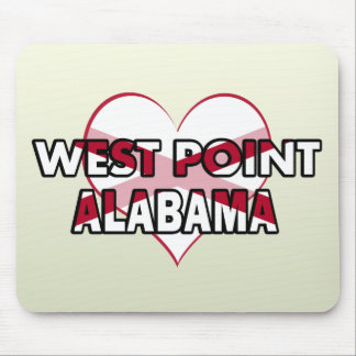 West Point, Alabama Mousepads