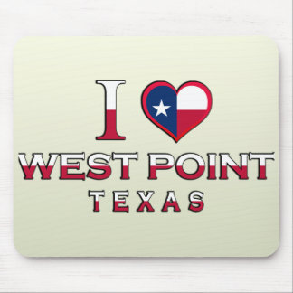 West Point, Texas Mousepad