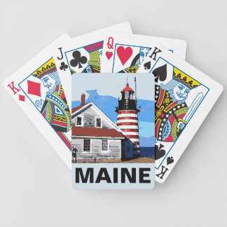 WEST QUODDY HEAD BICYCLE PLAYING CARDS