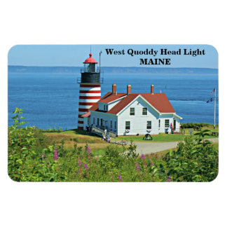 West Quoddy Head Light, Maine Premium Flexi Magnet