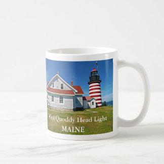 West Quoddy Head Lighthouse Maine Mug