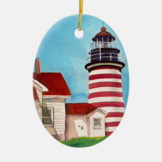 West Quoddy Light House ornament