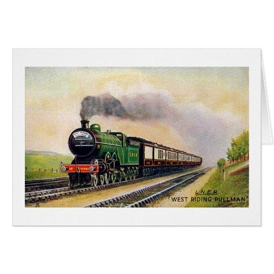 West Riding Pullman Card