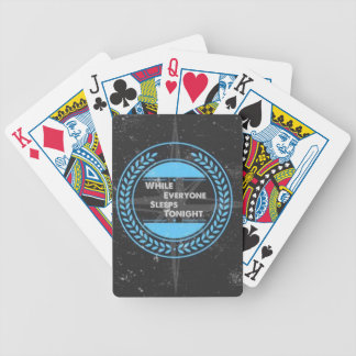 WEST Rock Band Item Bicycle Playing Cards