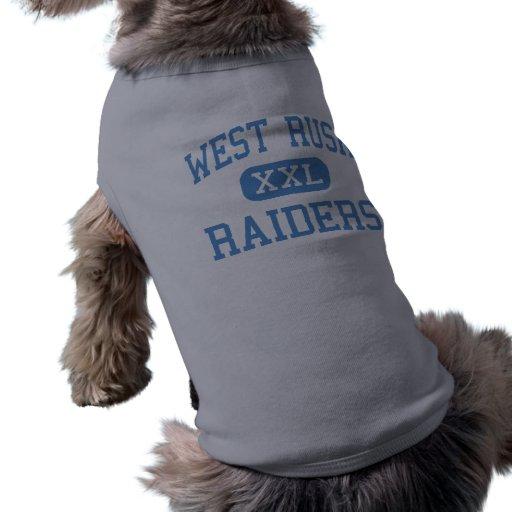 West Rusk - Raiders - High - New London Texas Pet Tee