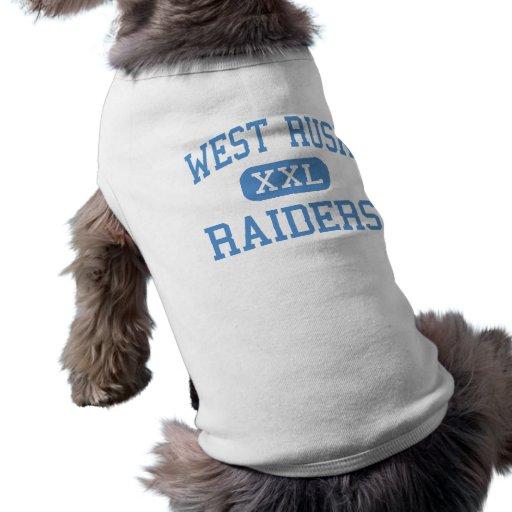 West Rusk - Raiders - Junior - New London Texas Doggie T Shirt