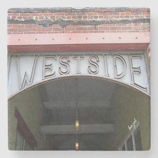 West Side Atlanta Marble Coasters