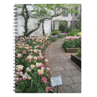 West Side Community Garden Tulip New York City NYC Notebook
