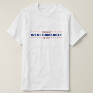 WEST SOMERSET - My Home - England; Hearts T-Shirt