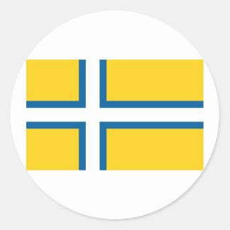 West Sweden, Sweden Classic Round Sticker