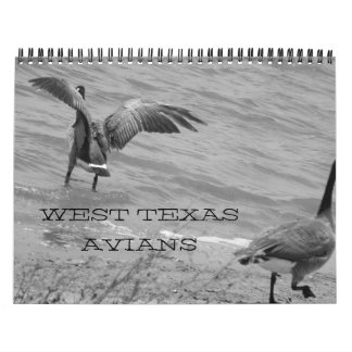 West Texas Avians Wall Calendars