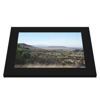 West Texas Desert-Landscape Canvas Prints