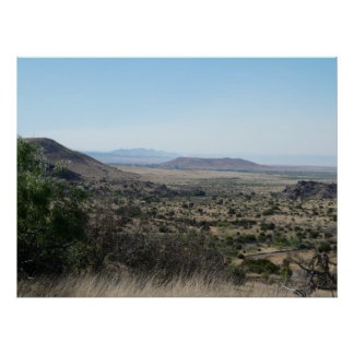 West Texas Desert Print