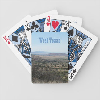 West Texas Landscape Deck Of Cards